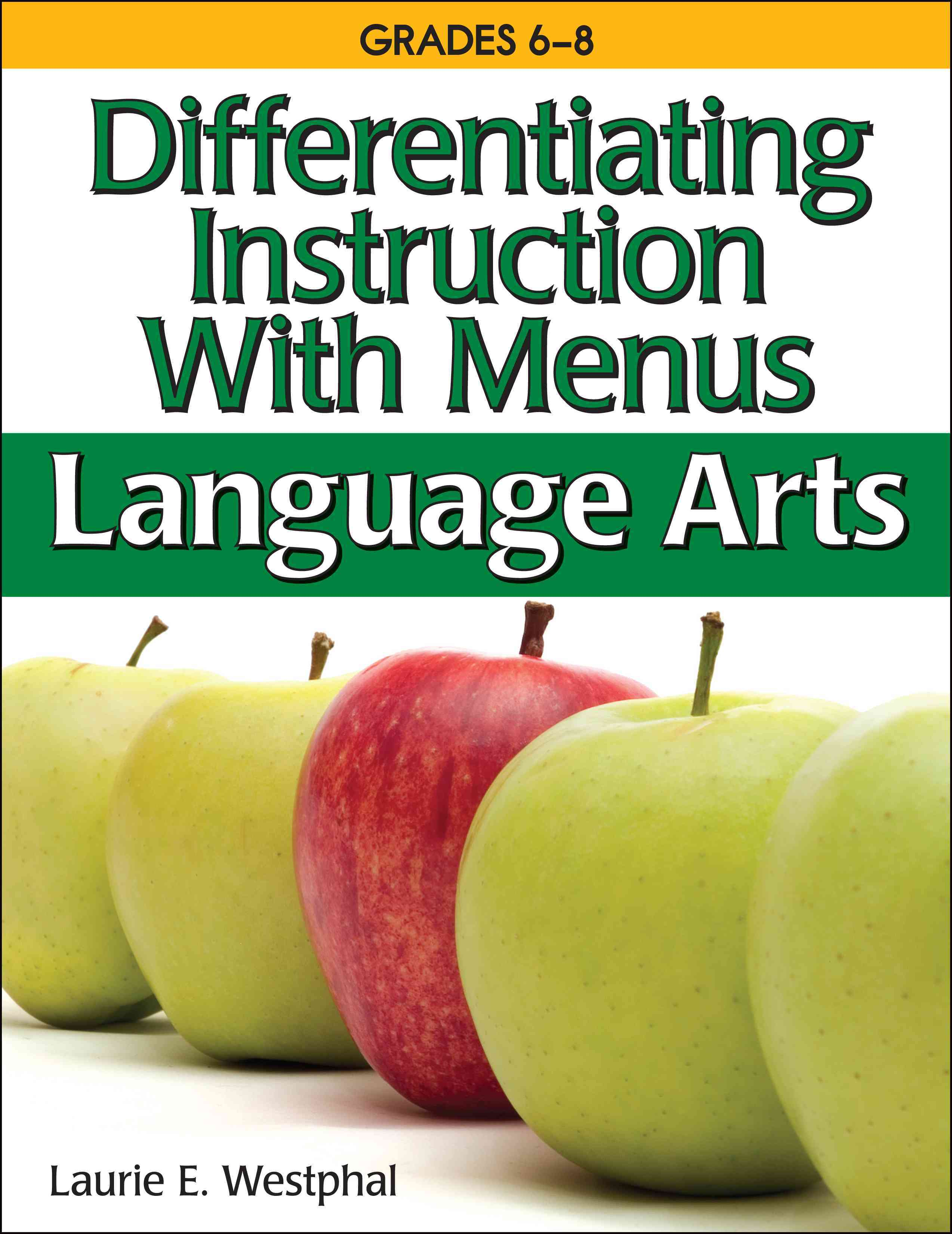 Differentiating Instruction With Menus By Westphal, Laurie E.